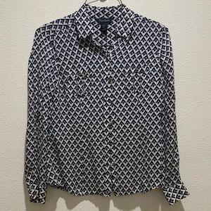 Size 4 silk blouse